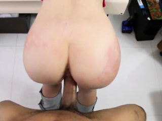 Big boobs bondage and black take it to the head first