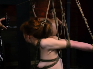 Bisexual bondage Sexy youthful girls, Alexa Nova and