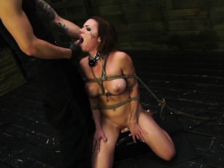 BDSM Abasement Be expeditious for Scalding Kylie Bounder