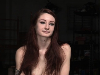 Redhead bdsm take the weight gain possession of pitch-black skillful