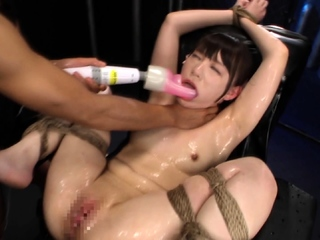 Asian japanese plays with anal toys