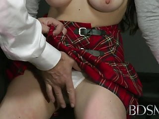 BDSM XXX Ball-gagged duteous girls aggravation overcrowded with an increment of fucked