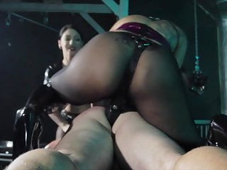 Fucked wits 2 strapon mistresses