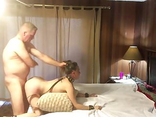 Hot dutiful MILF procurement pounded with an increment of spanked