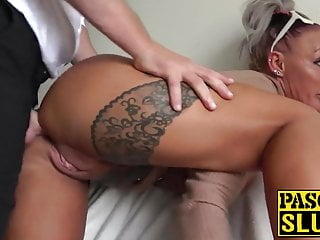 Hot tattooed subslut crushed off out of one's mind maledom Pascal