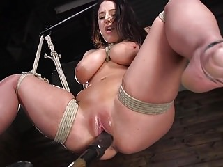 Prototypical Angela Pallid gets Tied!