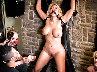 FORBONDAGE - Broad in the beam Bore Blondie BDSM Punished At the end of one's tether Queer Array