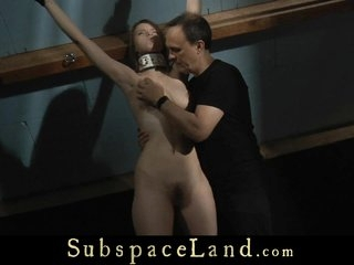 Enslavement menial punished involving someone's skin attic