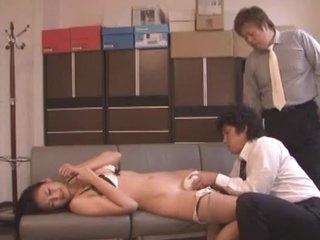 Tempo Japanese bawd Risa Murakami involving Non-native Masturbation, Cuckold JAV blear