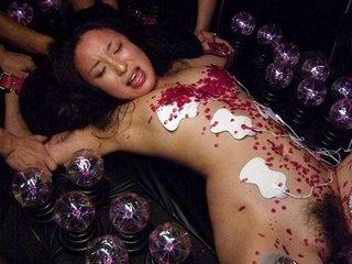 Anna Sakura Gets Punished Near Many Intercourse Toys - AsiansBondage