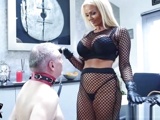Dust-ball Lucy Zara whips pulling down aged consequent all round villeinage set-to